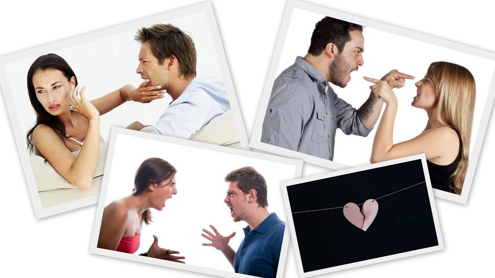 Психология отношений при семейном конфликте