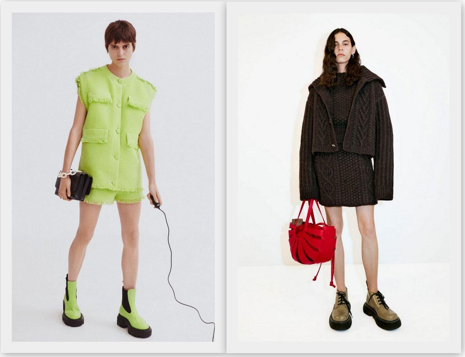 Модная массивная обувь 2021