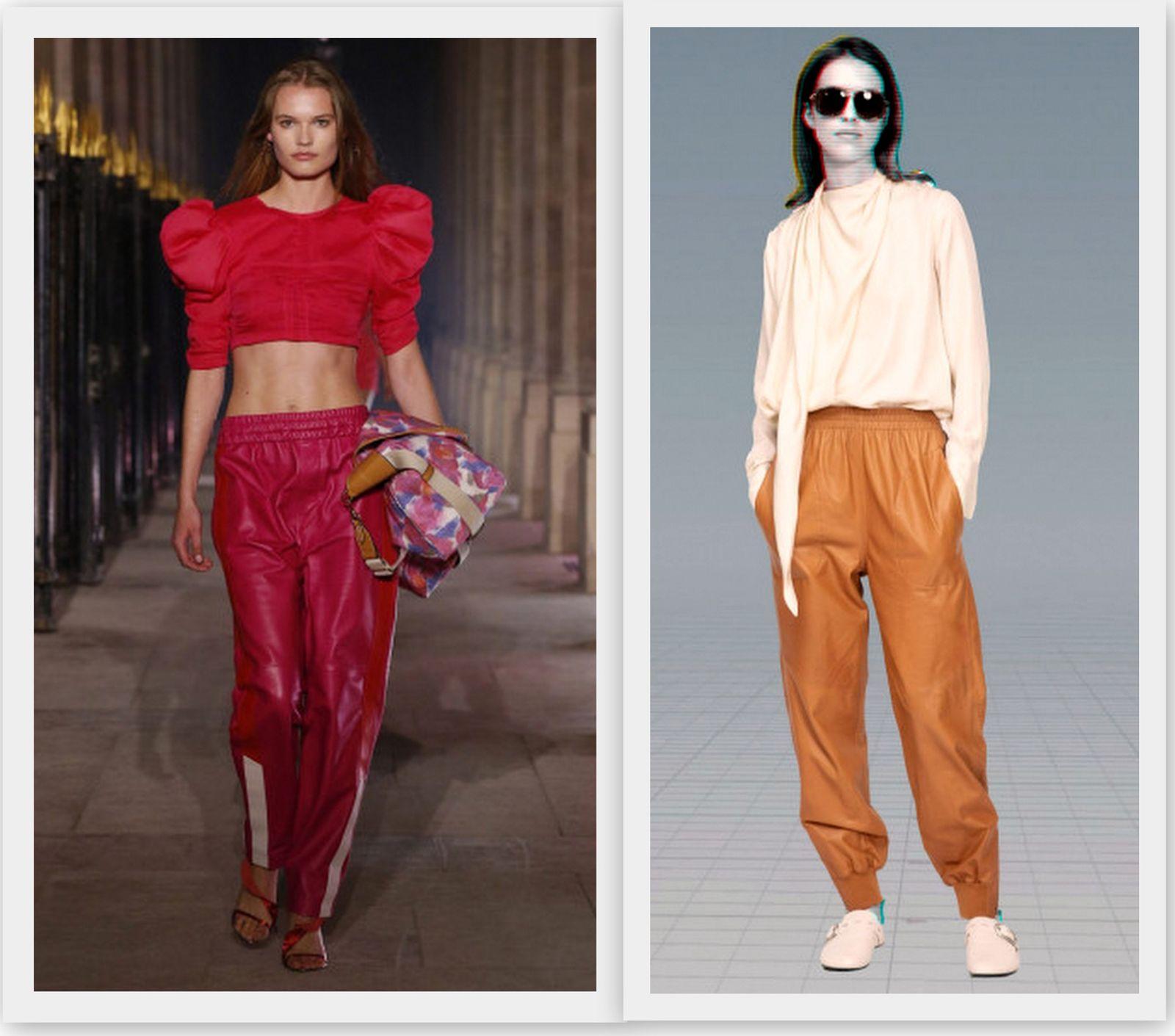 Модные брюки на резинке 2021
