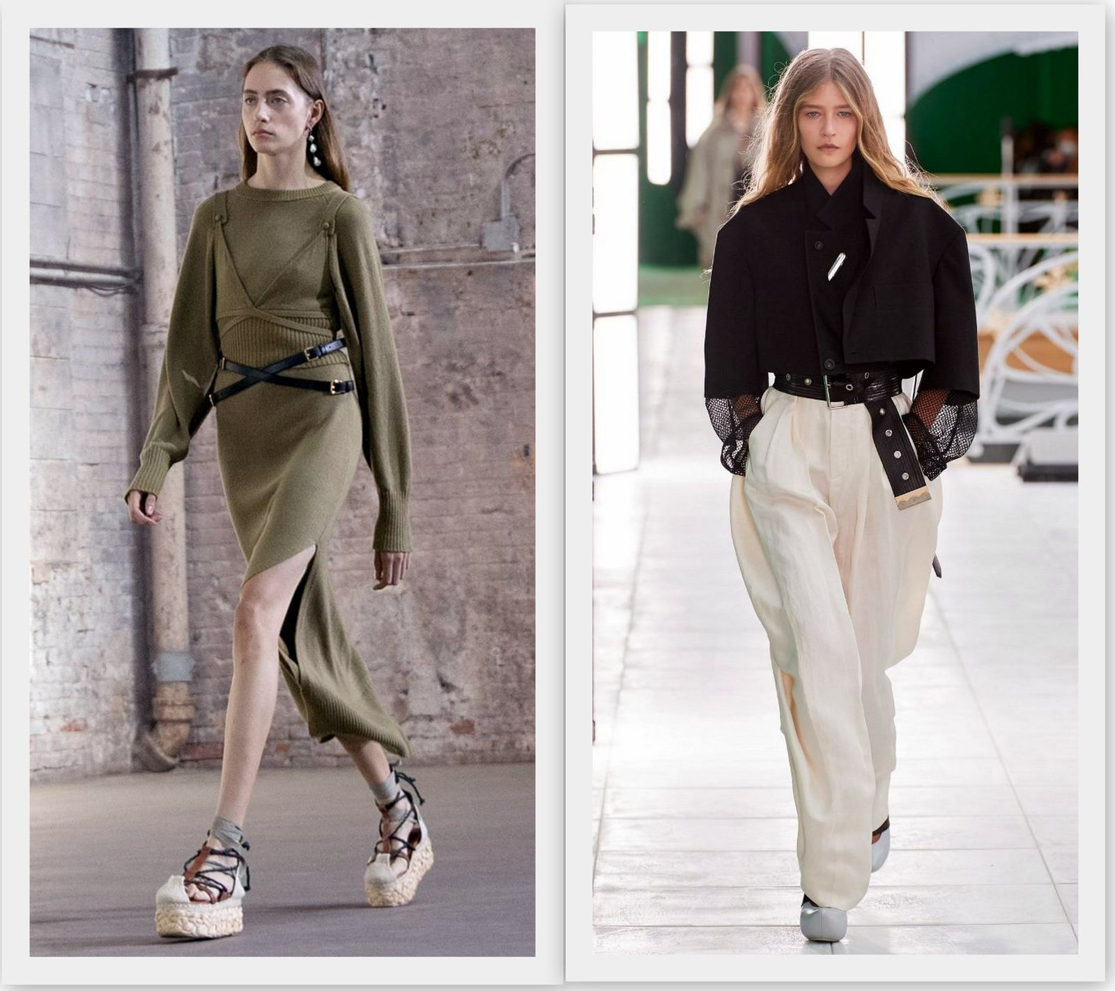 Модные женские ремни 2021