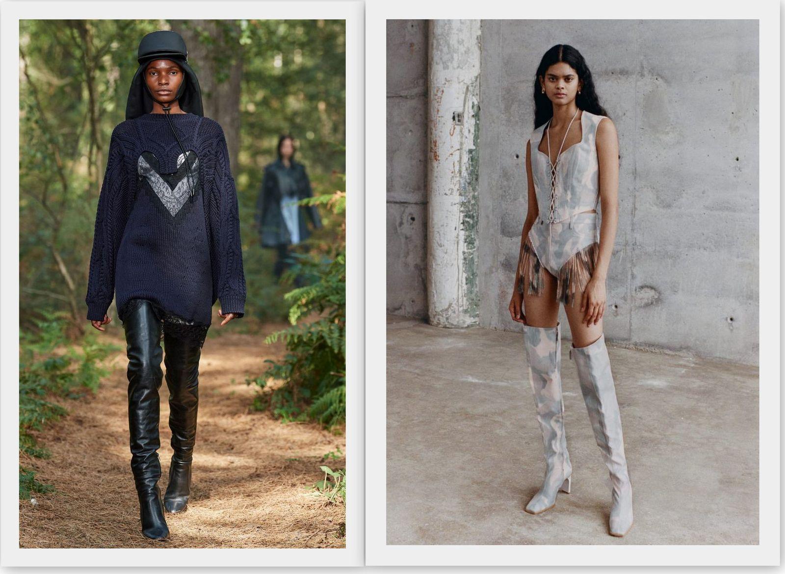Модные женские сапоги 2021