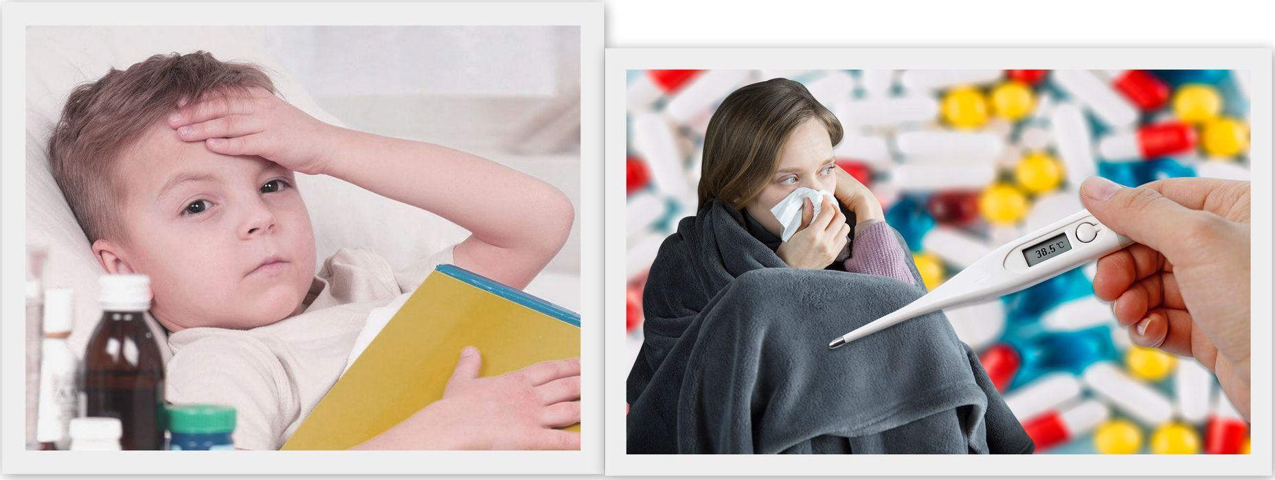 Симптомы гриппа 2021 у взрослых и детей
