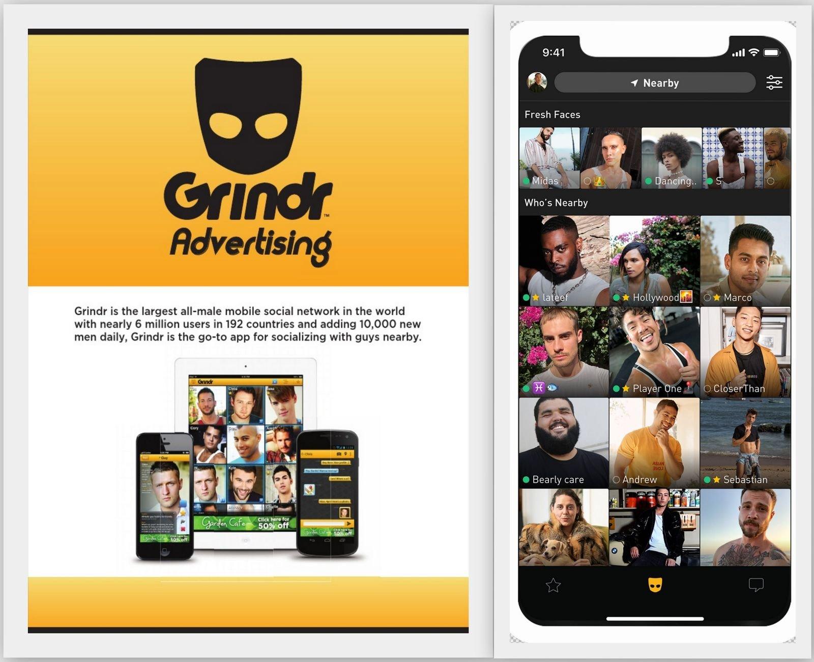 Приложение для знакомств Grindr