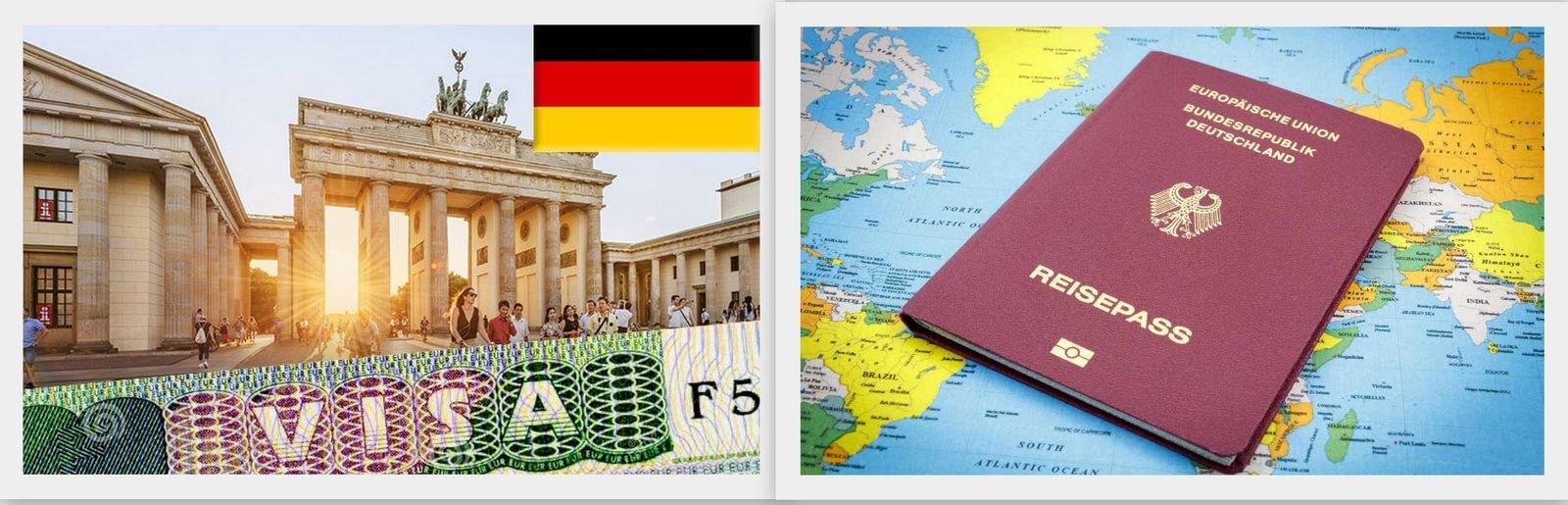 Виза и гражданство Германии в браке с немцем