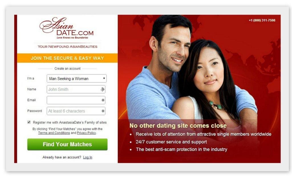 Приложение для знакомств с жителями Азии AsianDate.com