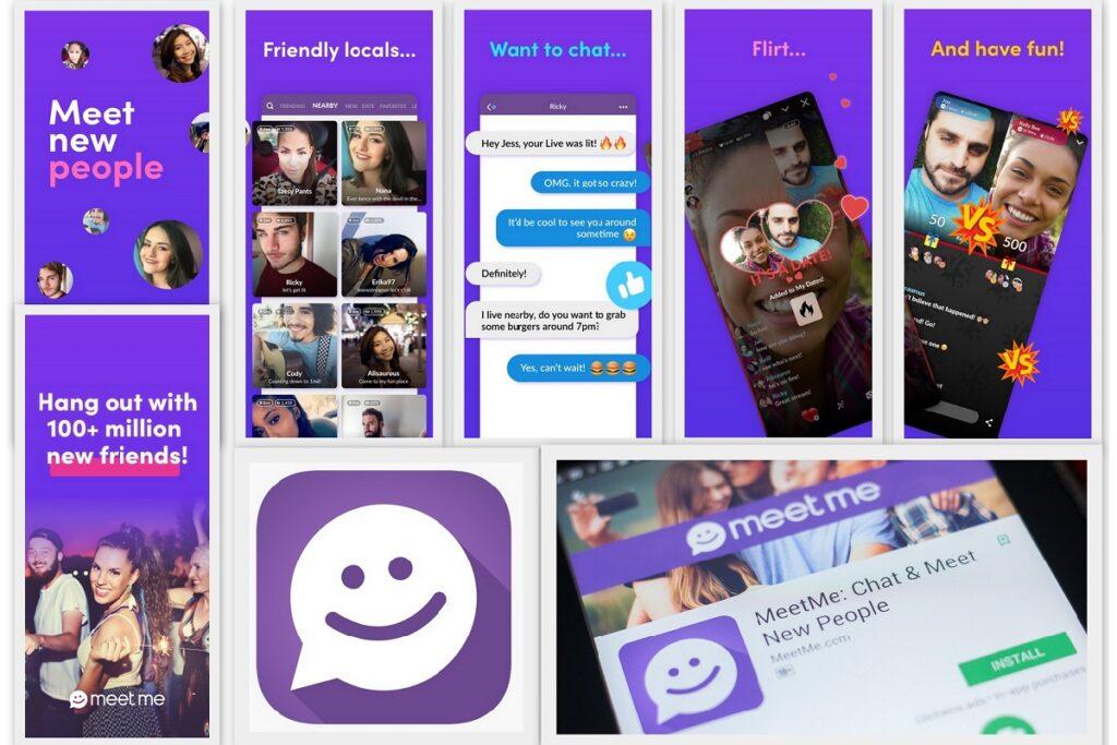 Мобильные знакомства MeetMe